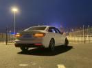 新款奥迪A4L的LED尾灯组夜间效果展示