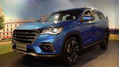 奇瑞大7座SUV,1.6T+8AT变速箱配国6标准