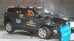 不少豪华车在碰撞测试栽了,揽胜极光:不带怕的
