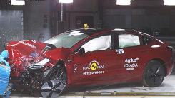 电动车不安全?特斯拉Model3来碰撞,给你答案