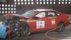 大众速腾碰撞视频来了,想买车的都来看看吧