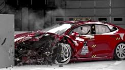 特斯拉Model S买不买?看看碰撞视频就知道了