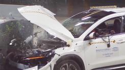 纯电汽车不安全?看看小鹏与欧蓝德的碰撞测试对比