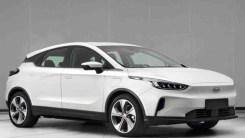 吉利全新紧凑级纯电SUV曝光 几何C颜值实力都很能打