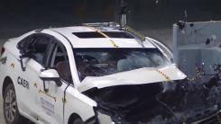 国产轿车安全不?北京汽车绅宝D50中保研测试来了!