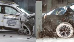 大众途观参加碰撞测试,结不结实?拿Jeep自由光对比一下