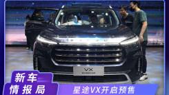 2020北京车展:星途VX开启预售