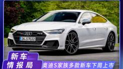 奥迪S家族6款新车,10月20日上市,外观凶悍,动力更强