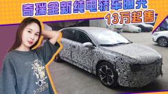 奇瑞全新纯电轿车泄露!溜背造型/比艾瑞泽e更运动,或13万起售