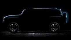 悍马新纯电SUV下月发布 造型方正外挂全尺寸备胎