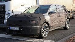 起亚全新SUV曝光搭1.6T引擎年底即将亮相