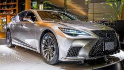 雷克萨斯新款LS到店实拍!搭3.5L引擎内饰更豪华