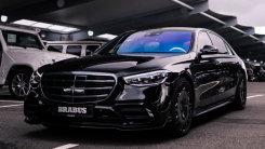 奔驰全新S级改装版曝光!搭3.0T引擎升级运动套件