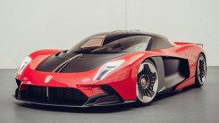 红旗全新S9跑车发布!搭V8混动引擎马力超千匹