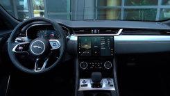 【试驾】捷豹中期改款F-PACE——内饰篇,简洁、运动、有科技感