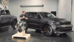 道奇Durango SRT改装版!搭V8引擎,马力超1000匹