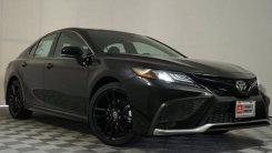 丰田凯美瑞运动版实拍!全车黑化套件,搭3.5L引擎