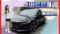 本田新款雅阁实车街拍!本月即将开售尺寸升级