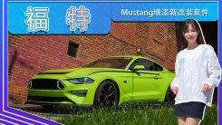 福特Mustang增添新改装套件!专属标识,配四出排气